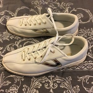 Tretorn Leather Nylite Sneakers